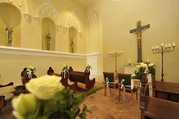 Beispiel: Kapelle, Foto: Schlosshotel Burg Schlitz.