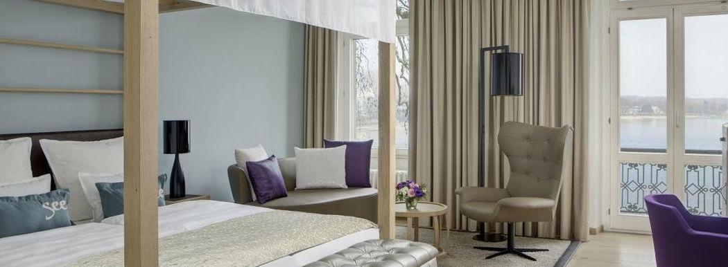 Beispiel: Doppelzimmer, Foto: Steigenberger Inselhotel Konstanz.