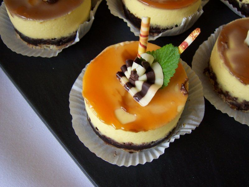 Beispiel: Sahnetörtchen, Foto: criollo chocolaterie confiserie.