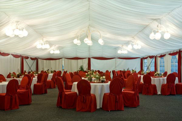 Beispiel: Hochzeitlocation, Foto: Feste Feiern.