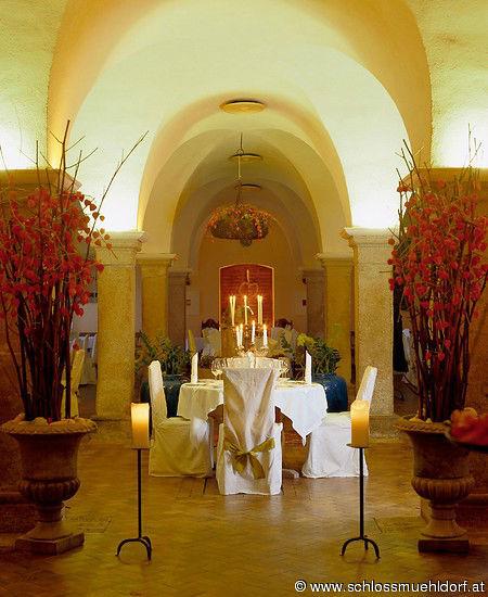 Beispiel: Hochzeitstafel, Foto: Schloss Mühldorf.