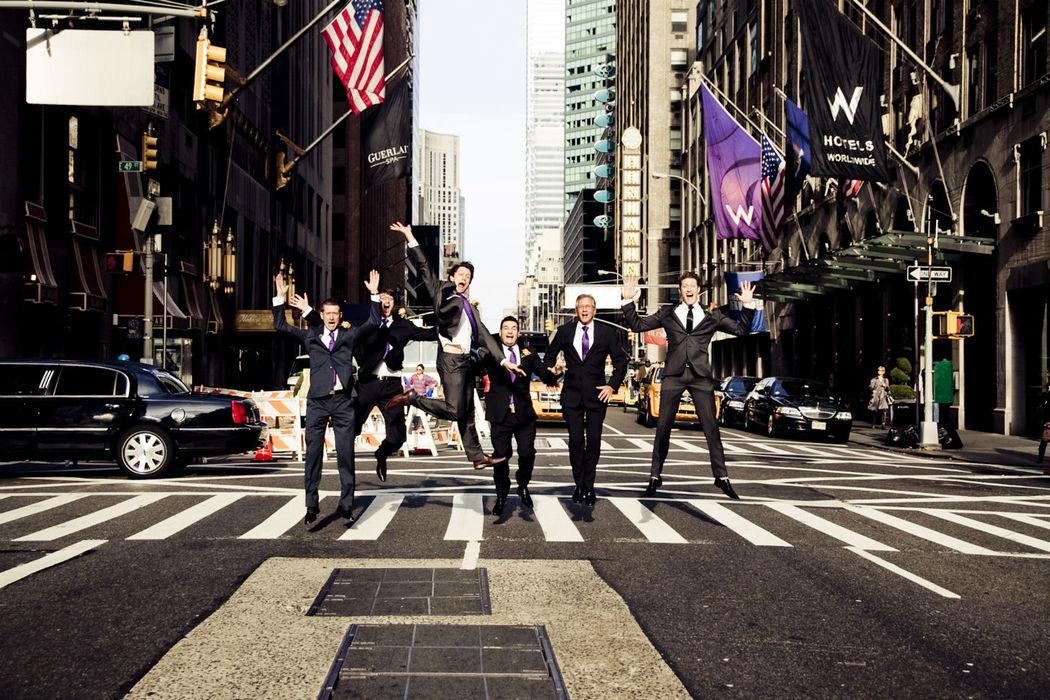 Los chicos en Nueva York