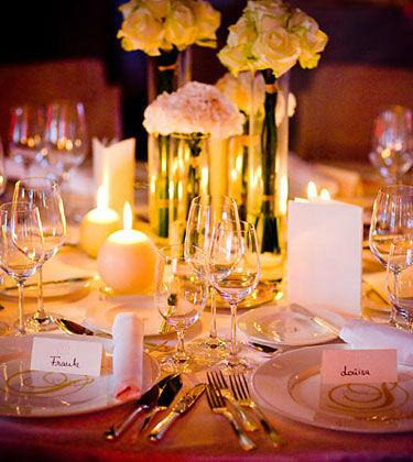 Beispiel: Ihre Hochzeitsdekoration, Foto: Himmel und Erde.