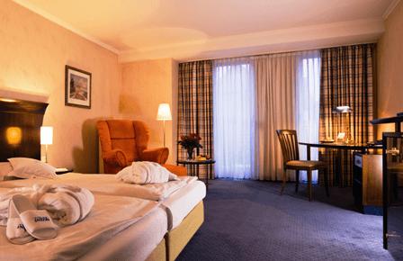 Beispiel: Zimmer, Foto: AKZENT Hotel Höltje.