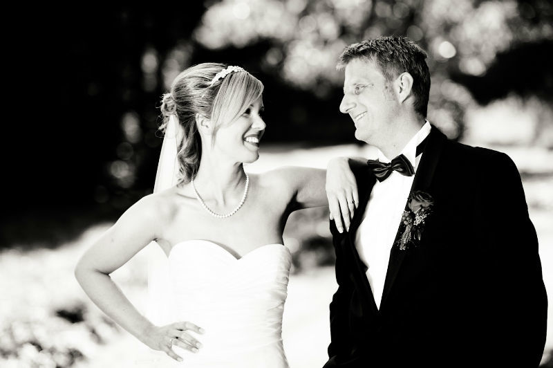 Beispiel: Natürliche Hochzeitsfotos, Foto: Patrick Ludolph.