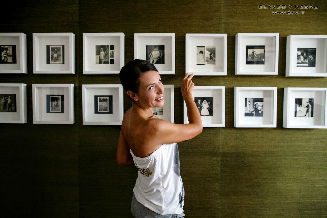 Blanco y Negro fotografi matrimonio Cuneo