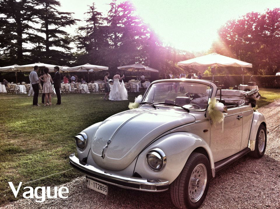 Volkswagen Maggiolino Cabriolet Noleggio Matrimoni Monza Como Lecco Milano Bergamo