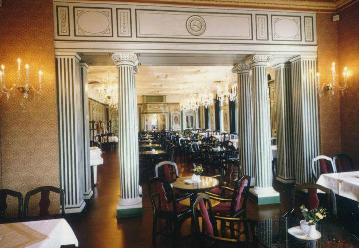 Beispiel: Café, Foto: Italienisches Dörfchen.