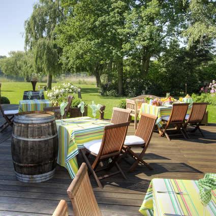 Beispiel: Terrasse, Foto: Landhaus am See.