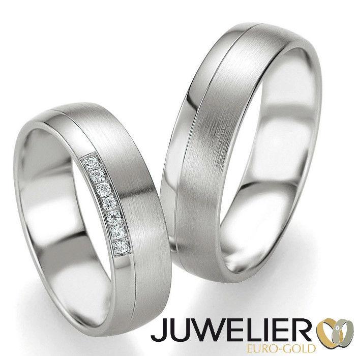 Beispiel: Die Ringe fürs Leben, Foto: Juwelier Euro-Gold.