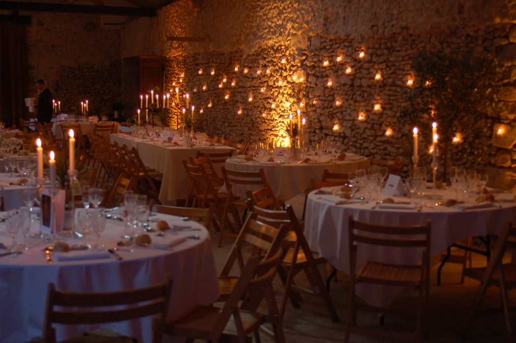 Le mur de bougies