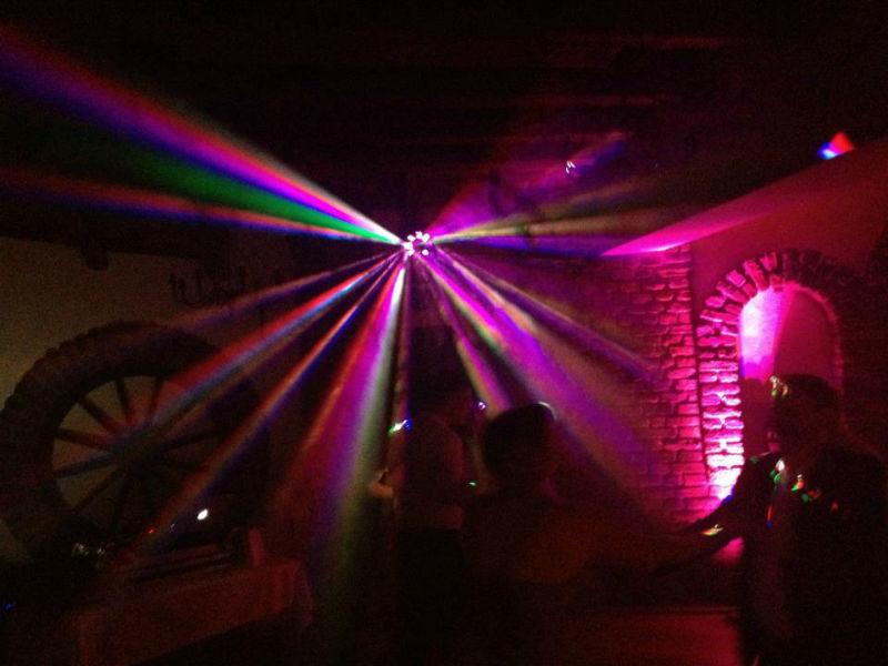 Beispiel: Lichtmaschine, Foto: Mobile Hochzeits-DJs.