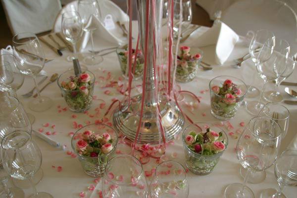 Beispiel: Tischdekoration, Foto: a.p.a.r.t.