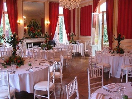 Le Salon Napoléon - Château de Villiers