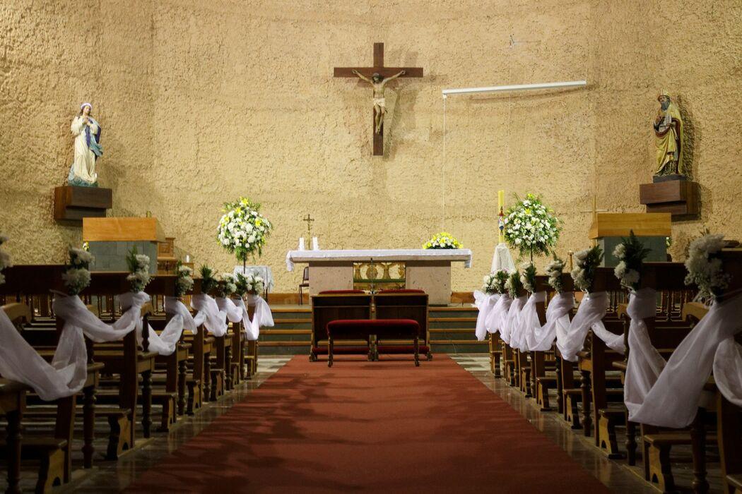 Boda en Iglesia San Agustín, Talca. Abril de 2016.