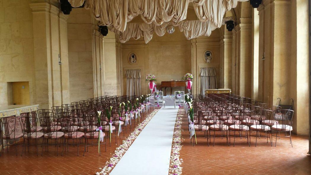 Installation et fleurs par Event-Evenements