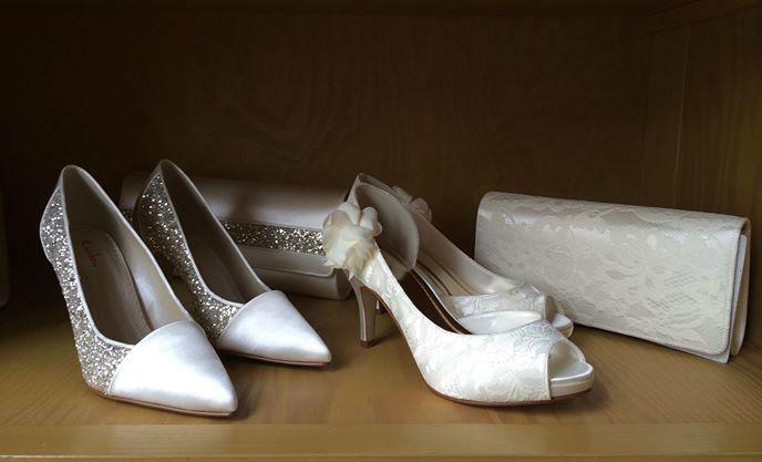 Beispiel: Brautschuhe, Foto: Friske & Lübcke Modeatelier.