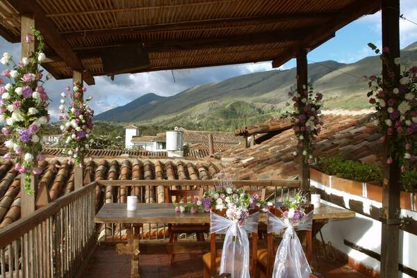 Restaurante Antique Villa de Leyva