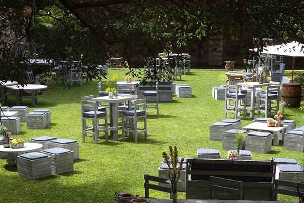Jardines para bodas en morelos for Jardin villa san gaspar