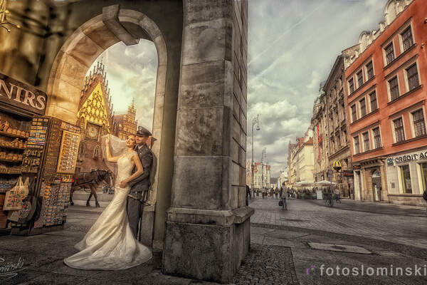 Fotografia Ślubna Wrocław - FotoSłomiński - Fotograf Wrocław.