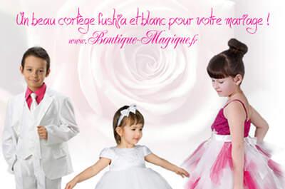 Boutique Magique - Tenues de Mariage pour Enfant