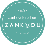 Ga naar Zank you website