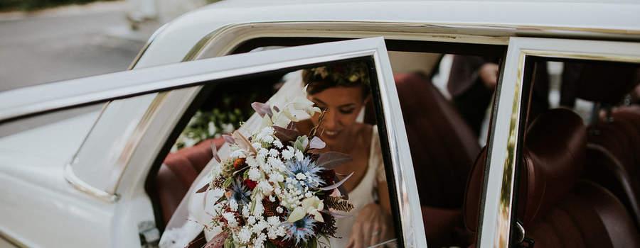 Herbes Fauves - Bouquet de mariée bohème et folk