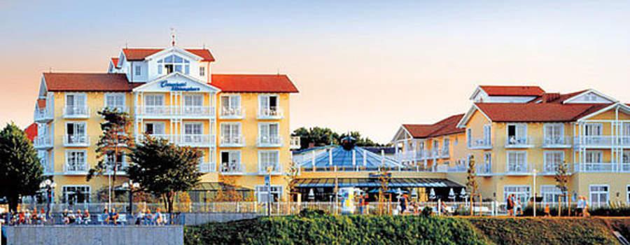 Beispiel: Das Ostseehotel von der Seebrücke, Foto: Travel Charme Ostseehotel Kühlungsborn.