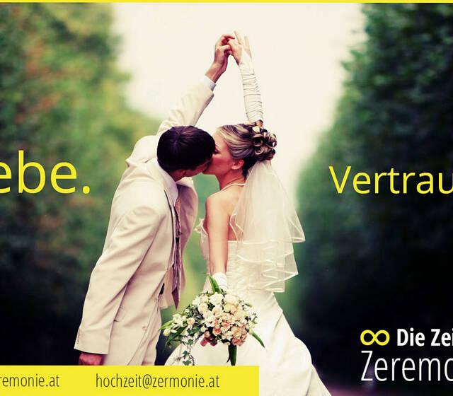 """""""Die Zeitlose Zeremonie"""" www.zeremonie.at Foto: Zeitlose Zeremonie"""