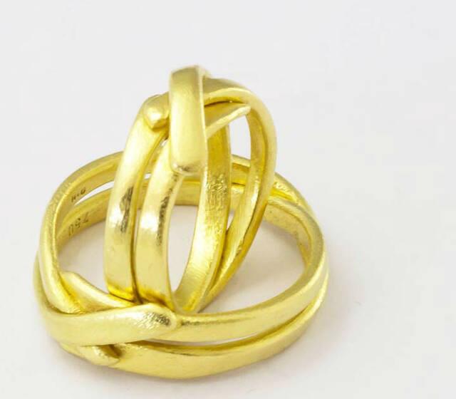 Beispiel: Trauringe - Gold, Foto: Goldschmiede Mussel.