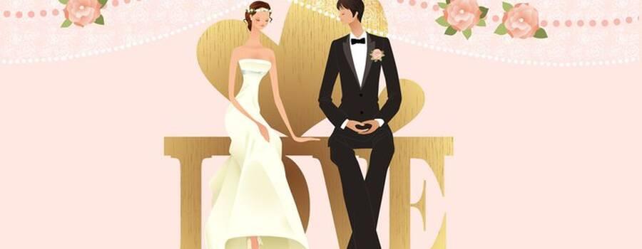 Beispiel: Bild Hochzeitspaar, Foto: Wunschmomente.