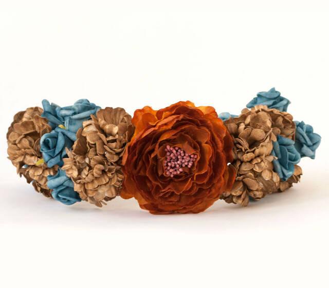 Corona Ofelia Cantuc Tocados Precioso para novia