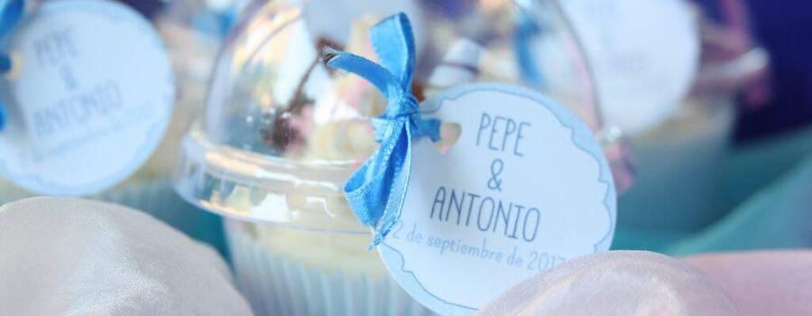 Cupcake para bodas