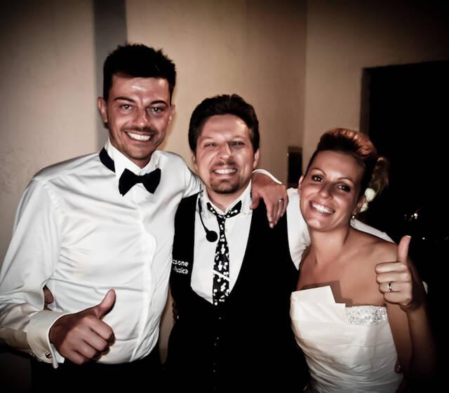 Adriano con Sposi