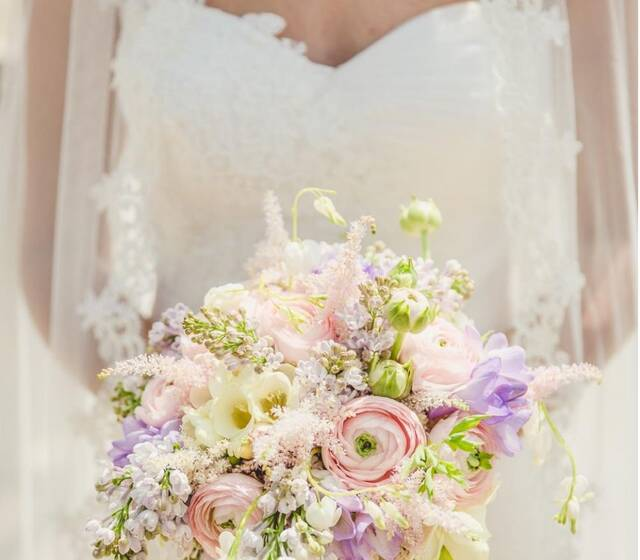 Virginia Florista Ramo de novia Bridal Bouquet