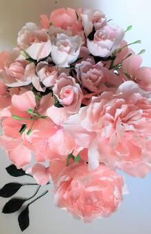 Bouquet Lili-Rose en crépon