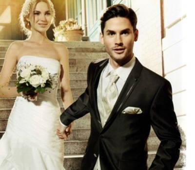 Beispiel: Mode für den Bräutigam, Foto: Modehaus Zins.