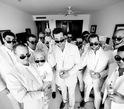 gettin ready groom,