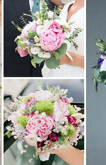 Os bouquets querem-se naturais e selvagens.
