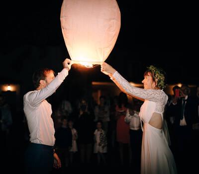 Lâcher de lanterne