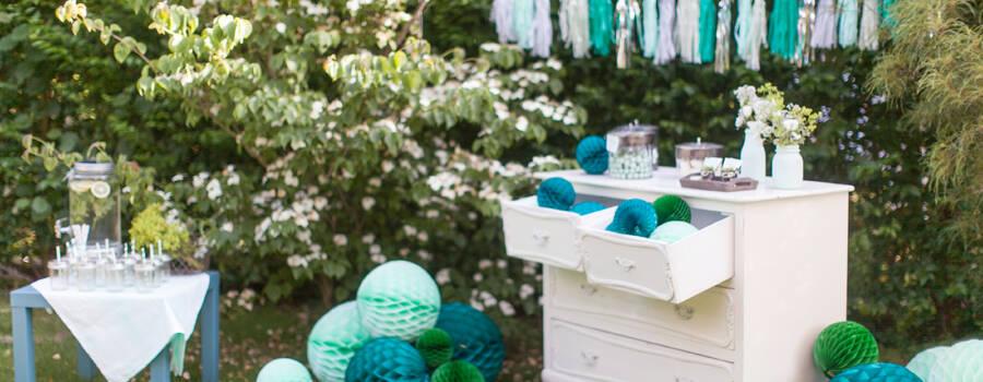 Emerald Mint Wedding by PinkFisch