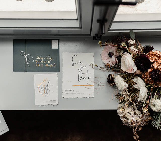Wedding Stationery handmade