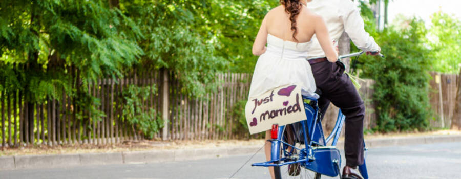 JUST MARRIED....!