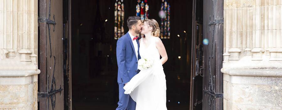 Mariage à l'eglise d'Auch dans le Gers Lucile Vives
