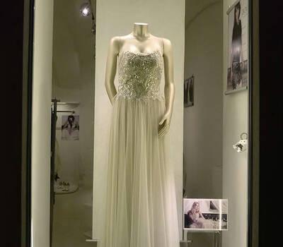 Beispiel: Pailettenkleid, Foto: ZOE-Modedesign.