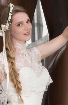 Beaumenay Joannet Paris - accessoire bohême couronne de fleurs
