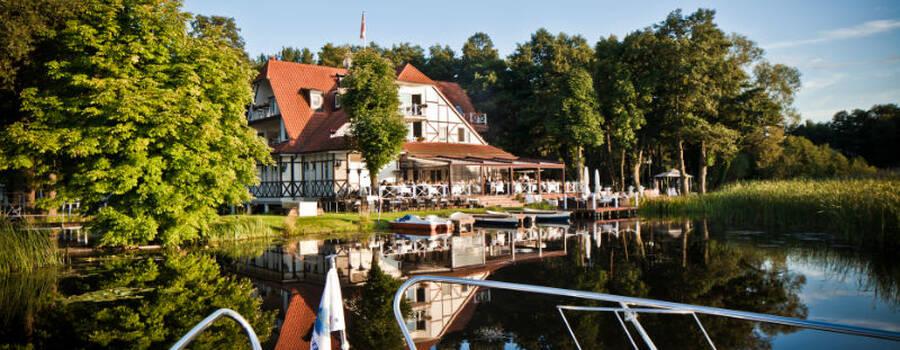 Beispiel: Ansicht vom See, Foto: Seelodge Kremmen.