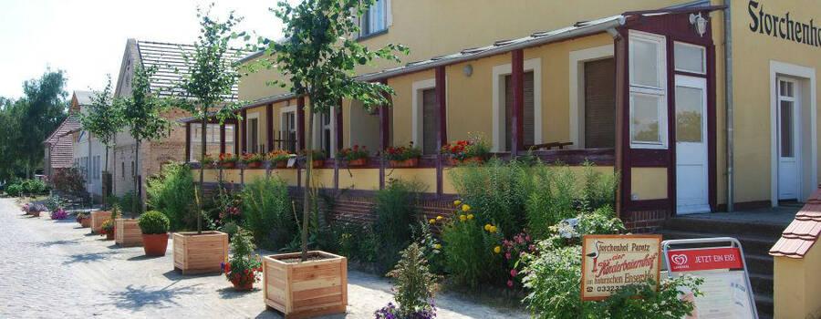 Beispiel: Außenansicht, Foto: Storchenhof Paretz.