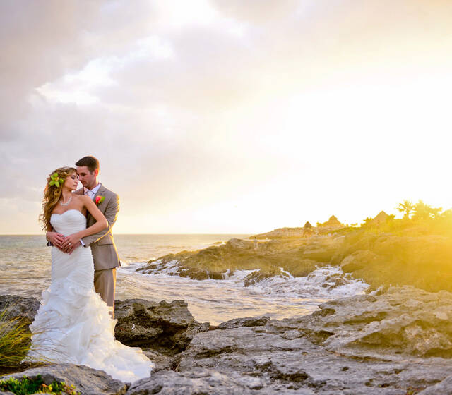 The Ocean Photo Weddings, Wedding Occidental at Xcaret Destination Photographer