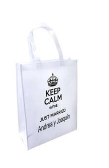 Bolsa Recuerdo Matrimonio KeepCalm